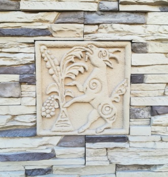 Сланец и барельефы в ландшафтном дизайне
