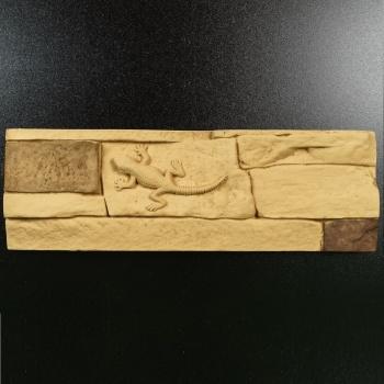 Сланец 20-740 с декором Ящерица