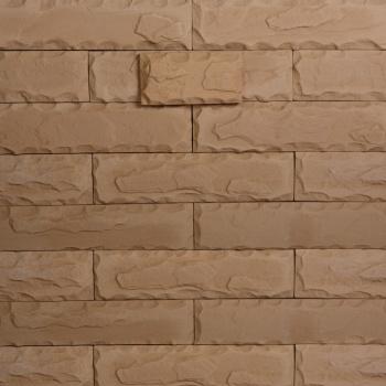 Декоративный камень Кирпич Колотая грань 26-740